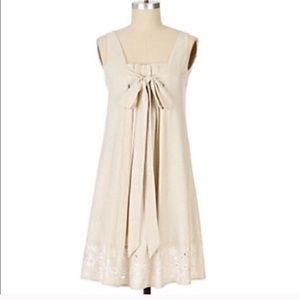 Anthropologie Ranna Gill Linen Dress